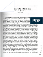 Dorelia Barahona - La señorita Florencia