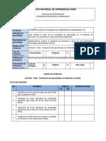 AA4-EV2. Taller - Evaluación Del Aprendizaje en Ambientes Virtuales.