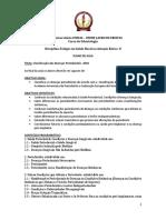 Plano de Aula - Classificação Das DP 2018