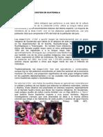 13 Etnias Que Coexisten en Guatemala