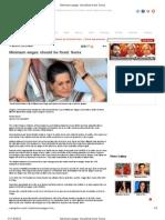 Sahara Samay - 13 Nov 2010 - Minimum Wages Should Be Fixed - Sonia
