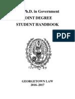 JD Application Georgetown
