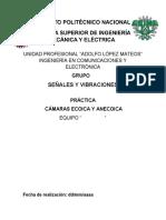 Camaras Ecoica y Anecoica