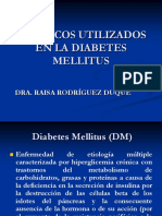 Farmacos para la diabetes