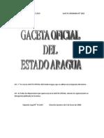 Ley de Convivencia Ciudadana Del Estado Aragua