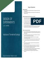 Deesign of Experiments