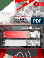 Proklamator Dan Peran Para Tokoh Sekitar Proklamasi