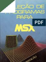 Colecao de Programas Para MSX Volume2