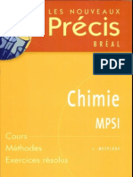 Precis Chimie MPSI