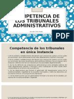 Competencia de Los Tribunales Administrativos EXPO