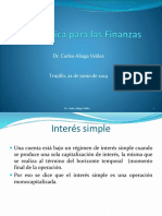 diapositvas de interes simple y compuesto