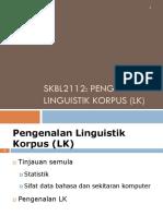 ET21 Pengenalan Linguistik Korpus