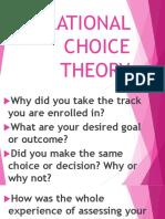 1 Rational Choice Theory