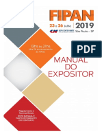 Manual do Expositor Expo Fipan