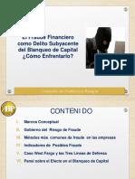 Charla Sobre Fraude y El Blanqueo de Capital Resumen