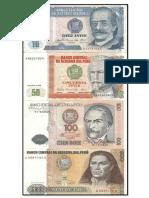 Tipos de Billetes de Peru