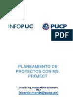 DG Curso de Capacitación Planeamiento de Proyectos Con MS PROJECT 2019-04