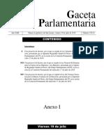 Leyes secundarias del Grupo Parlamentario del PT