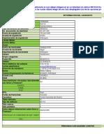 Datos Del Candidato Actualizado Excel