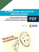 Generalidades Del PAI y Esquema de Vacunación Sanitas