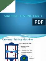 Material Testing Lab -1