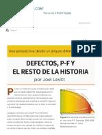 Una Perspectiva Desde Un Ángulo Diferente - Defectos, P-F y - Reliabilityweb_ a Culture of Reliability