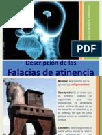 Descripción de Las Falacias de Atinencia