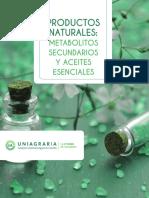 Productos Naturales. Metabolitos Secundarios y Aceites