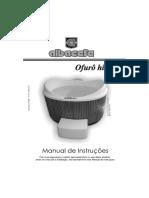 ALBACETE - Ofurô Hidro (Manual de Instruções)