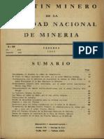 Boletín Minero Sonami