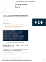 Zimbra zmlocalconfig_ line 83_ exec_ java_ not found - SystemMen.com.pdf