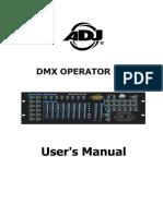 Dmx Operator 384