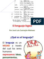 El Lenguaje Lógico