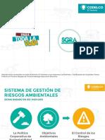 Sistema de Gestión de Riesgos Medioambientales