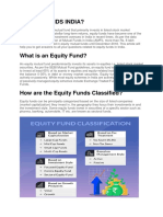 Equity Fund is a Class of Mutual Fund That Primarily Invests in Listed Stock Market Securities