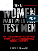 What do women want when they test you