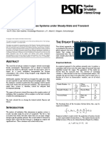 Modelamiento de sistemas multifasicos