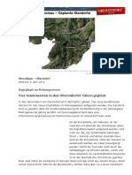 Digitalfunk Im Rettungswesen BOS - Vier Sendemasten in Den Oberstdorfer Tälern Geplant - Radio AllgäuHIT