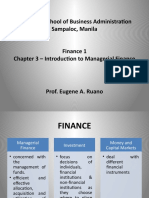 Chapter 3 Introduction to Managerial Finance
