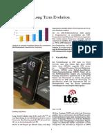 LTE Mobilfunkstandard Der Vierten Generation