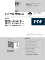 Mitsubishi Electric Heat Pump Outdoor Unit Service Manual_MUZ-LN25-50VGHZ-A1_OBH810A