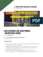 Lecciones de Job Para Nuestra Vida