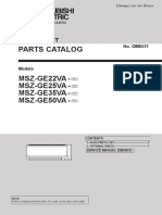 Mitsubishi Electric Heat Pump Parts Indoor MSZ-GE22-50VA-A1.pdf