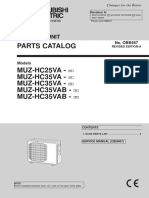 Mitsubishi Electric Heat Pump Parts Outdoor MUZ-HC25-35VA.pdf