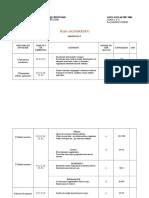 Plan Calendaristic SEM II Clasa 5