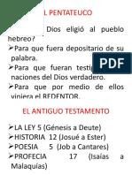 01- El Pentateuco