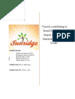 Research Paper- Sunridge