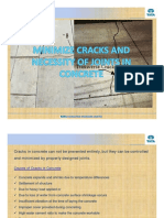 Cracks & Joints in Concrete