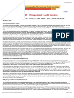 Chapter 16 - ILO Occupational Health Services