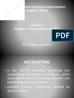 Chapter 4 Finance and Accounting